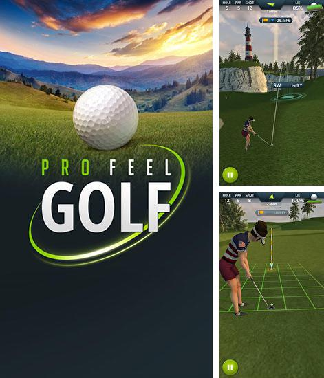 In addition to the game Golf 3D for Android phones and tablets, you can also download Pro feel golf for free.