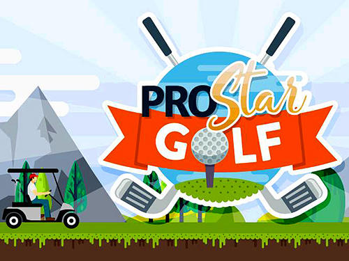 Pro star golf poster