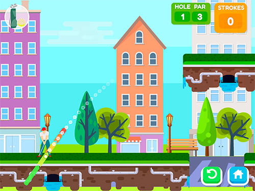 Pro star golf screenshot 1