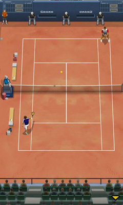 Screenshots von Pro Tennis 2013 für Android-Tablet, Smartphone.