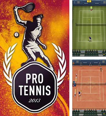 In addition to the game Cross Court Tennis for Android phones and tablets, you can also download Pro Tennis 2013 for free.