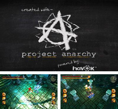 In addition to the game Wacky world for Android phones and tablets, you can also download Project Anarchy for free.
