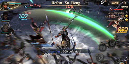 Screenshots von Project dynasty warriors für Android-Tablet, Smartphone.