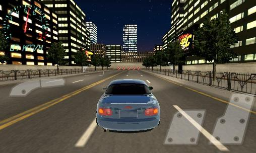 Screenshots of the Project JDM: Drift underground for Android tablet, phone.