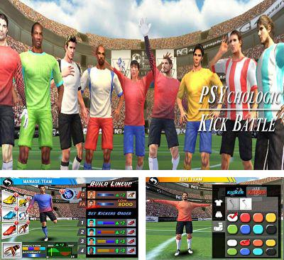 In addition to the game Kick Flick Soccer Football HD for Android phones and tablets, you can also download PSYkick Battle for free.