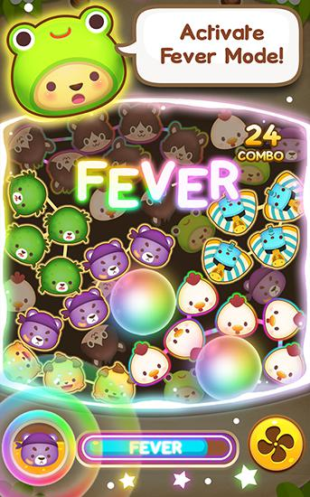 Screenshots von Puchi puchi pop: Puzzle game für Android-Tablet, Smartphone.