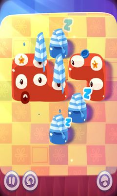 Геймплей Pudding Monsters для Android телефону.