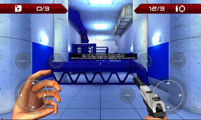 Screenshots of the Pulse Infiltrator for Android tablet, phone.