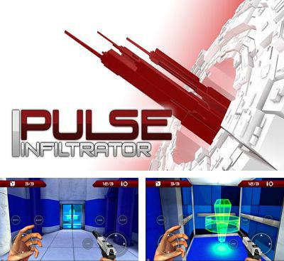 In addition to the game Toxin Zombie Annihilation for Android phones and tablets, you can also download Pulse Infiltrator for free.