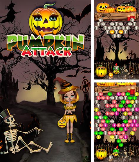 In addition to the game Fruit shooter saga for Android phones and tablets, you can also download Pumpkin attack for free.