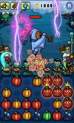 Screenshots von Pumpkins VS Monster für Android-Tablet, Smartphone.