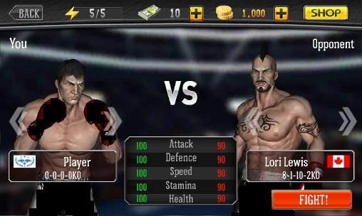Screenshots von Punch boxing für Android-Tablet, Smartphone.