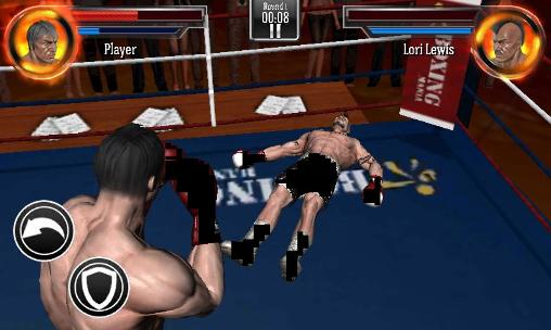 Геймплей Punch boxing для Android телефону.