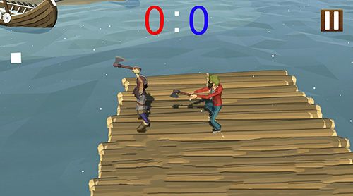 Puppet fighter: 2 players ragdoll arcade screenshot 2