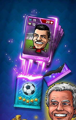 Гра Puppet football card manager CCG на Android - повна версія.