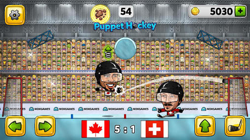 Screenshots von Puppet ice hockey 2014 für Android-Tablet, Smartphone.