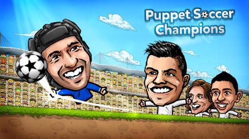 Puppet soccer champions poster