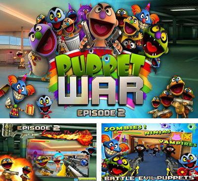 In addition to the game Puppet WarFPS ep.1 for Android phones and tablets, you can also download Puppet War ep 2 for free.