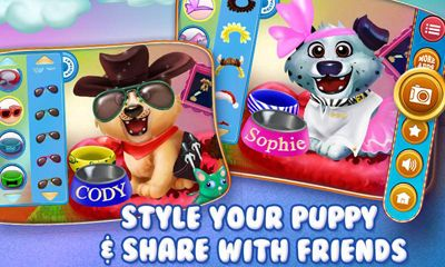 Puppy Dog Dress Up & Care screenshot 4