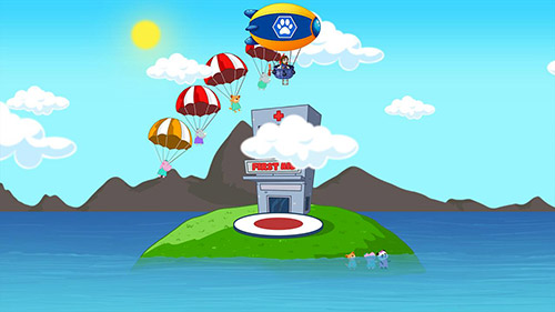Screenshots von Puppy rangers: Rescue patrol für Android-Tablet, Smartphone.