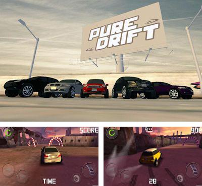 In addition to the game Drift Mania Championship for Android phones and tablets, you can also download Pure Drift for free.