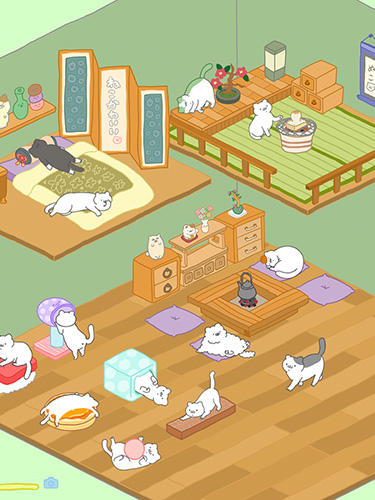 Screenshots von Purrfect spirits für Android-Tablet, Smartphone.