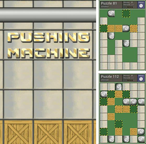 Pushing machine