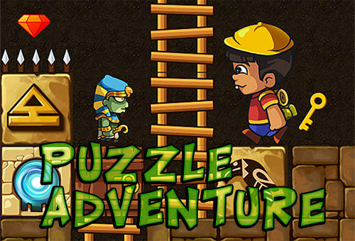 Puzzle adventure: Underground temple quest poster