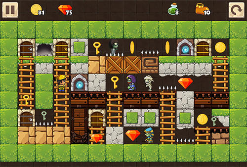 Puzzle adventure: Underground temple quest screenshot 2