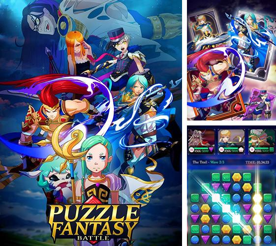 Puzzle fantasy battles: Match 3 adventure games
