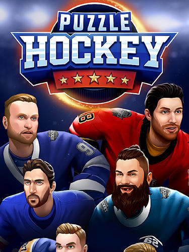 Puzzle hockey poster