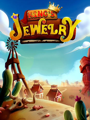 Puzzle king matchs: King's jewerly poster