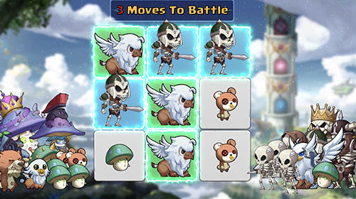 Puzzle monsters screenshot 2