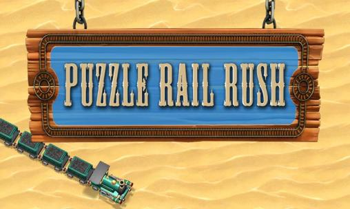 Puzzle rail rush poster