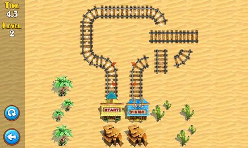 Screenshots do Puzzle rail rush - Perigoso para tablet e celular Android.