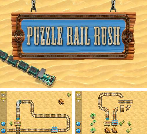 In addition to the game War of tanks: Online for Android phones and tablets, you can also download Puzzle rail rush for free.