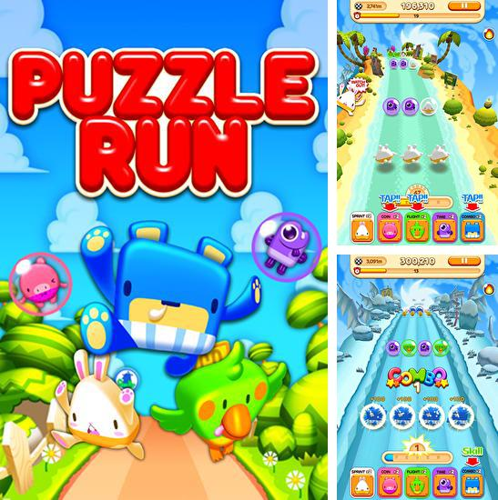 In addition to the game Connect'Em for Android phones and tablets, you can also download Puzzle run: Silly champions for free.