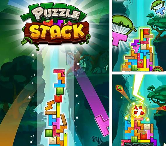 Puzzle stack: Fruit tower blocks game