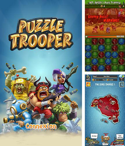 In addition to the game Battle sheep! for Android phones and tablets, you can also download Puzzle trooper for free.