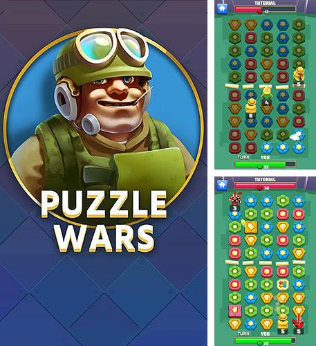 In addition to the game Hero hunters for Android phones and tablets, you can also download Puzzle wars for free.