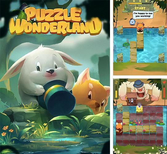 In addition to the game Saiyan marvels for Android phones and tablets, you can also download Puzzle Wonderland for free.