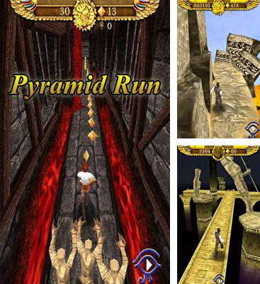 In addition to the game Zombie Run HD for Android phones and tablets, you can also download Pyramid Run for free.