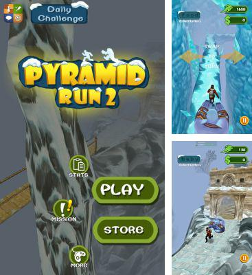In addition to the game Zombie Run HD for Android phones and tablets, you can also download Pyramid Run 2 for free.