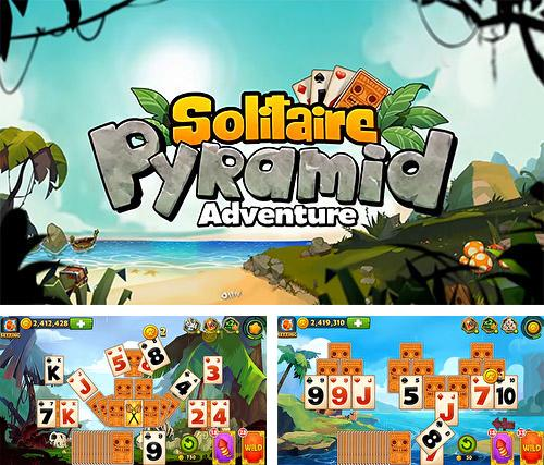 Pyramid solitaire: Adventure. Card games