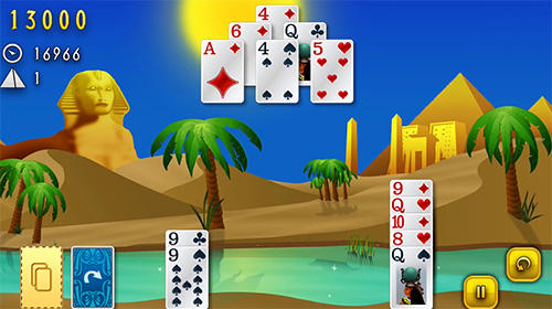 Kostenloses Android-Game Clash of Cards: Solitär. Vollversion der Android-apk-App Hirschjäger: Die Clash of cards: Solitaire für Tablets und Telefone.
