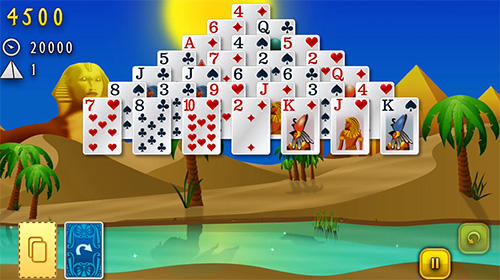 Clash of cards: Solitaire für Android spielen. Spiel Clash of Cards: Solitär kostenloser Download.