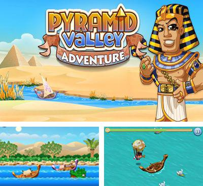 In addition to the game Pyramid Rising for Android phones and tablets, you can also download Pyramid Valley Adventure for free.