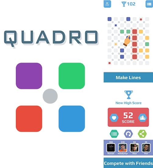 In addition to the game Jengris puzzle 3D for Android phones and tablets, you can also download Quadro puzzle for free.