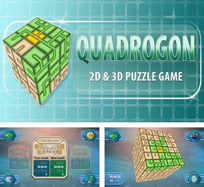 In addition to the game Track My Train for Android phones and tablets, you can also download Quadrogon for free.