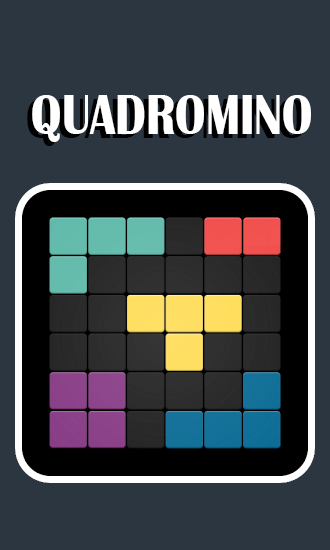 Quadromino: No rush puzzle